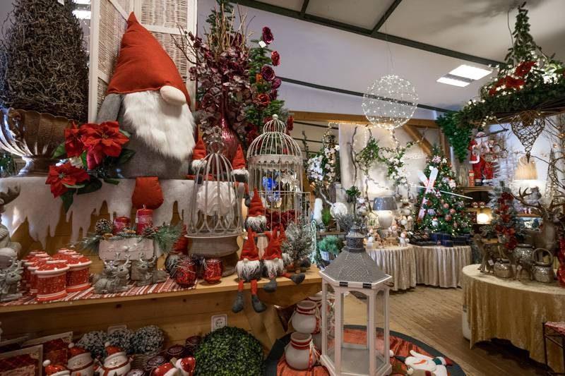 Dekoscheune - Weihnachtsshopping